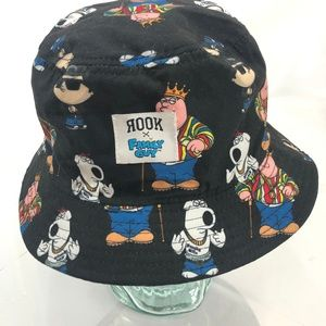 FAMILY GUY x ROOK Reversible Bucket Hat Multicolor